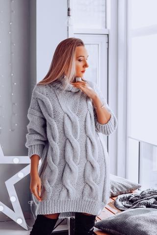 Мастер-класс свитер платье