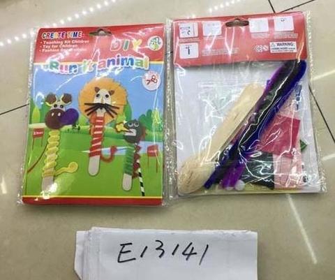 СПЕЦЦЕНА Набор для творчества Животные в пакете/ Е13141