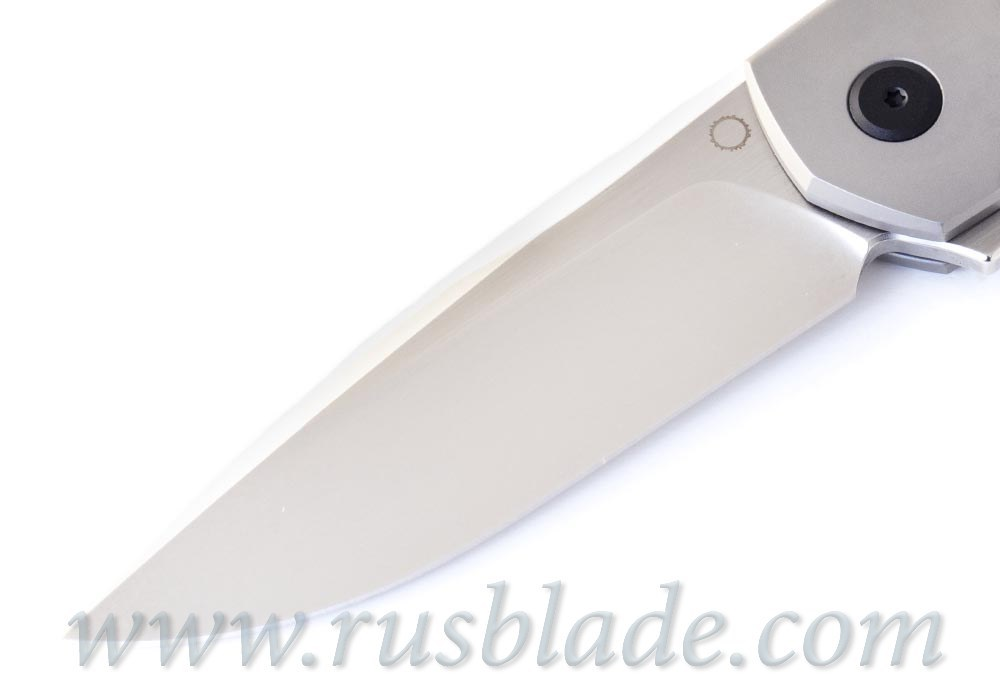 CKF MKAD Empat knife (M390, Ti+CF) - фотография