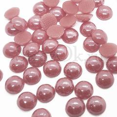 Купить оптом термоклеевой керамический полужемчуг розовый Sakura