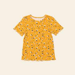 Детская женская футболка E21K-54M103
