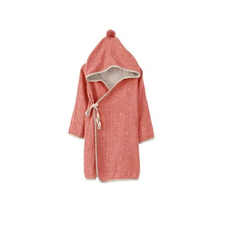 Детский банный  халатик IVY (красный)