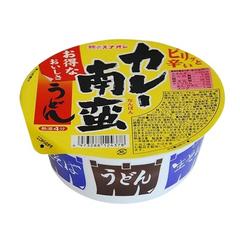 Острая лапша быстрого приготовления Sunaoshi Curry Udon с карри чашка круглая 81 гр