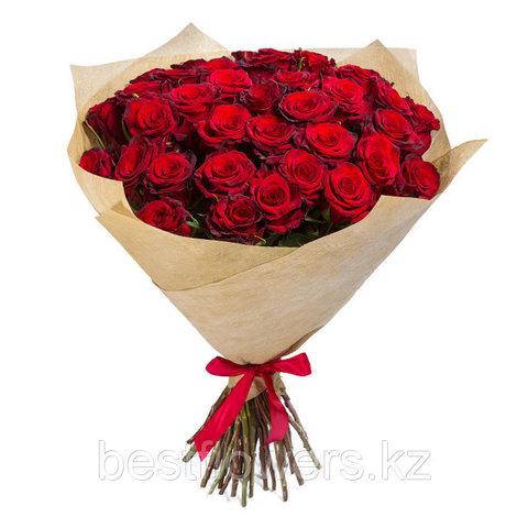 Букет из 51 розы 2 (60 см)
