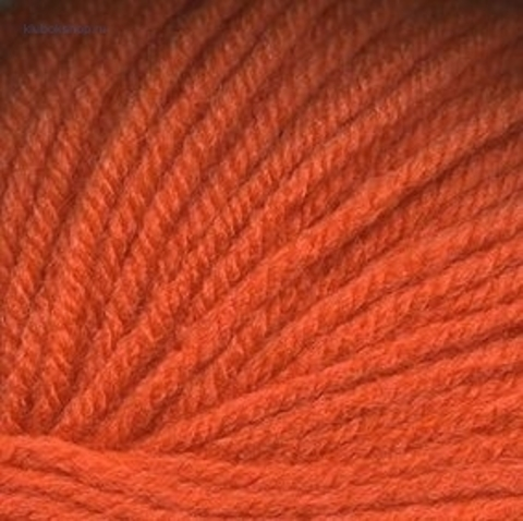 Пряжа Кроха (Троицкая) 493 Ярко-оранжевый - купить в интернет-магазине недорого klubokshop.ru