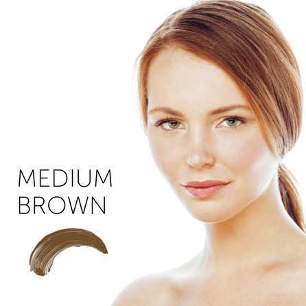 "3. Medium Brown пигмент для бровей   ""Tina Davies 'I Love INK' Permablend"