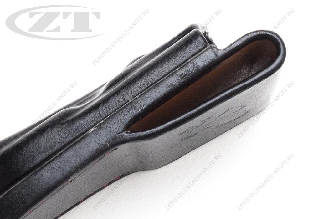 Чехол кожаный ZT 0562 черный - фотография