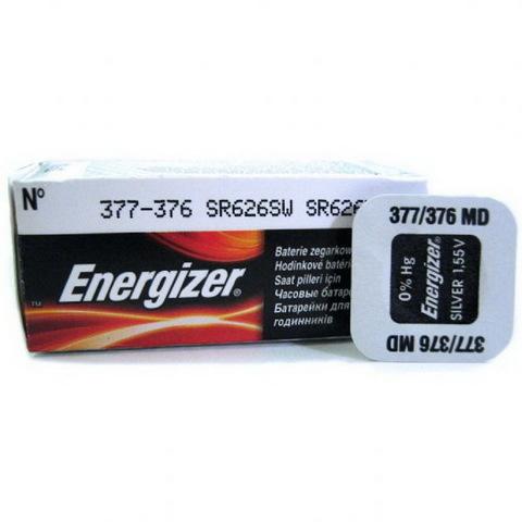 Батарейки часовые Energizer SR626SW (377)