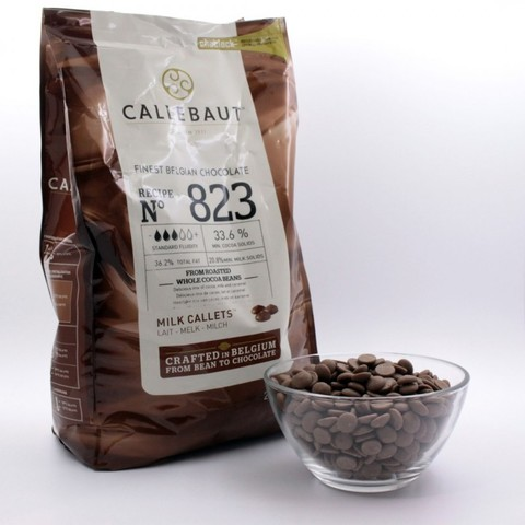 Темный шоколад Каллебаут (Callebaut) 2,5 кг