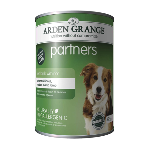 Arden Grange Partners Консервы для собак Ягненок и Рис