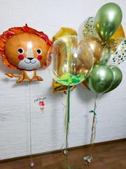 Воздушный шар лев