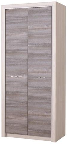 Шкаф Октава 2С платяной серый