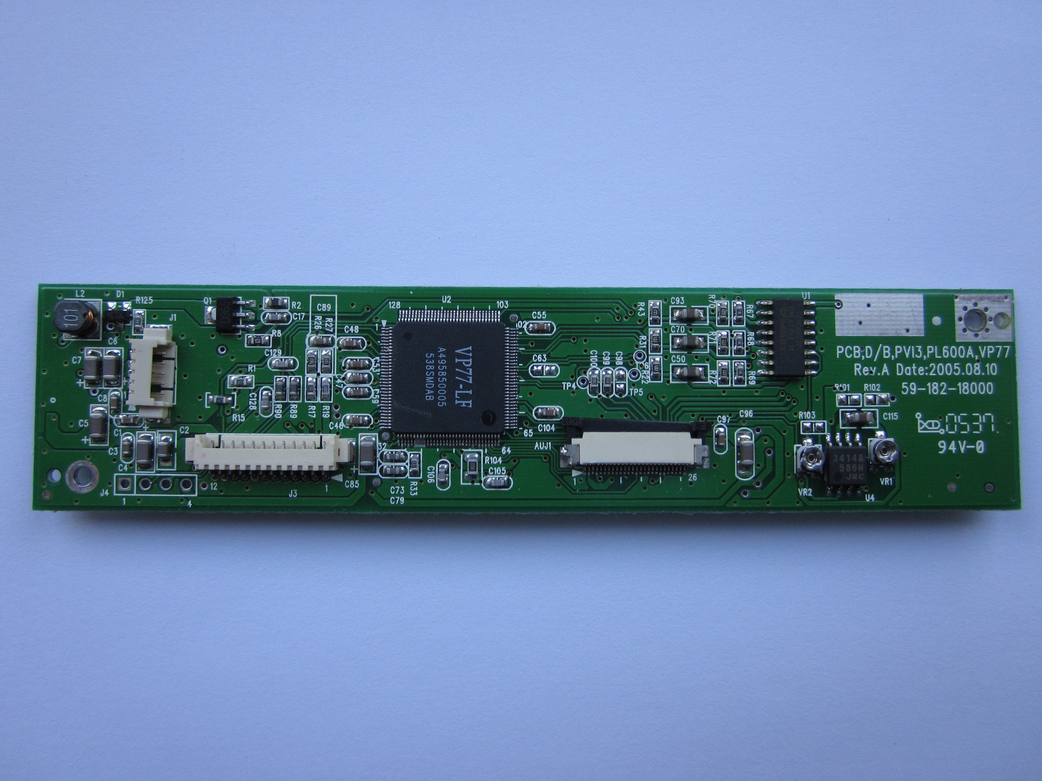 Плата PCB,D/B,PVI3,PL600A,VP77  Rev.A