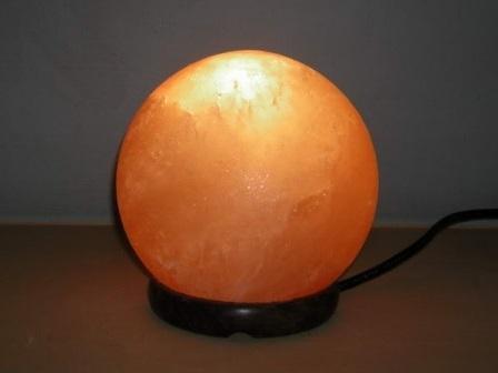 Солевая лампа (соляная лампа) «Фэн-Шуй-Планета»