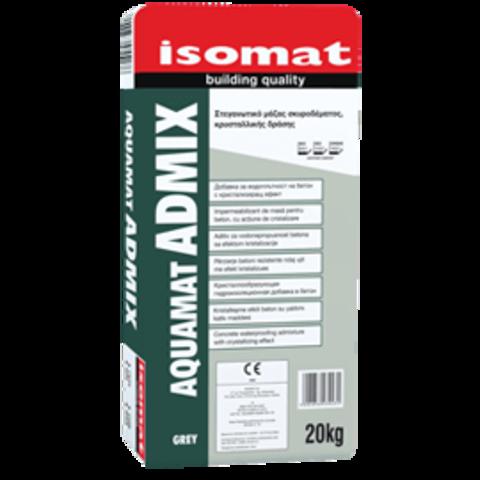 Isomat Aquamat Admix/Изомат Аквамат Адмикс кристаллообразующая гидроизоляционная добавка в бетон