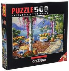 Puzzle Mor Salkımlı Teras. Wisteria Terrace 500 pcs