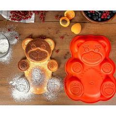 VETTA Форма для выпечки Медвежонок, силикон