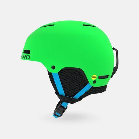 Шлем детский/юниорский GIRO CRUE Matte Bright Green