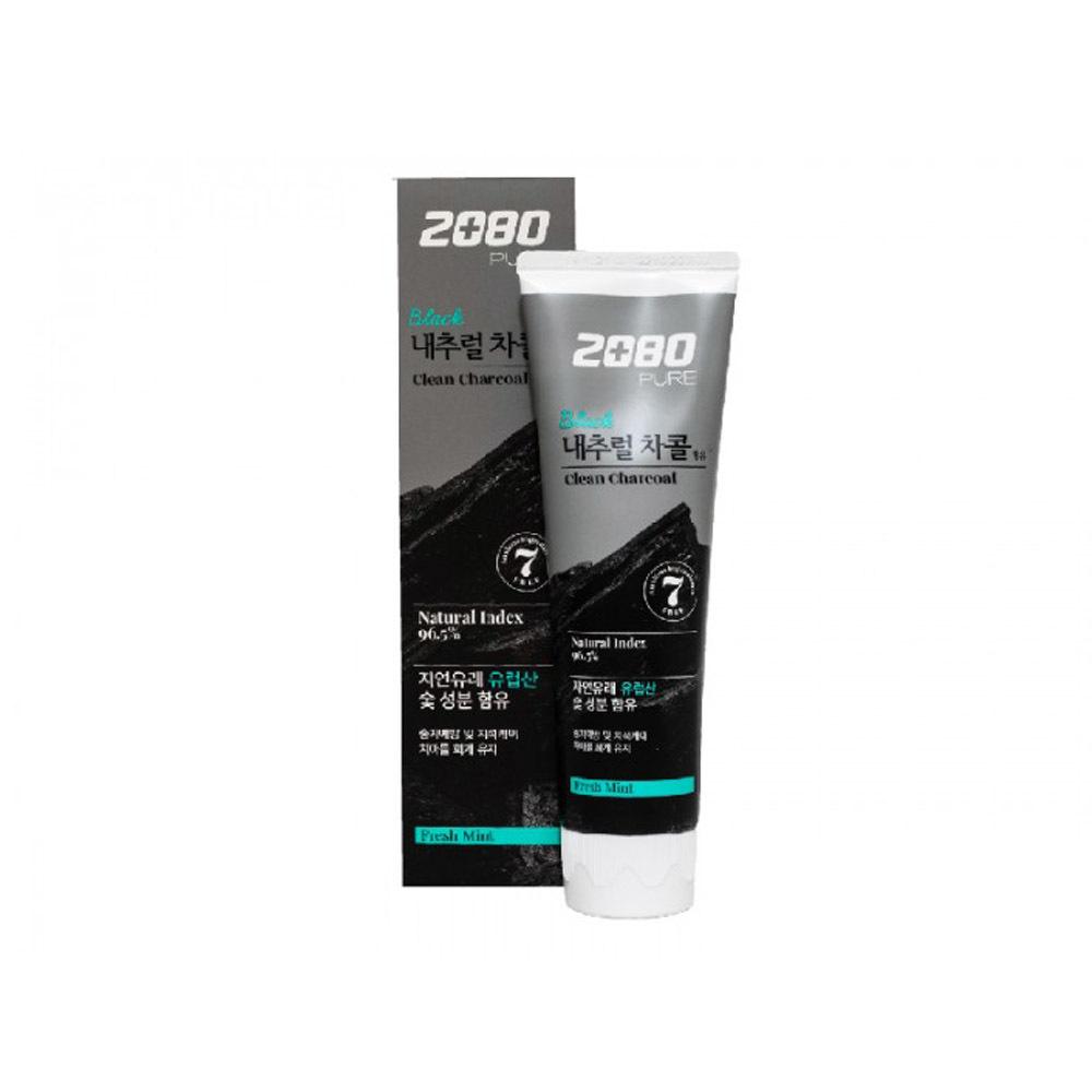Зубная паста 2080 Уголь и Мята