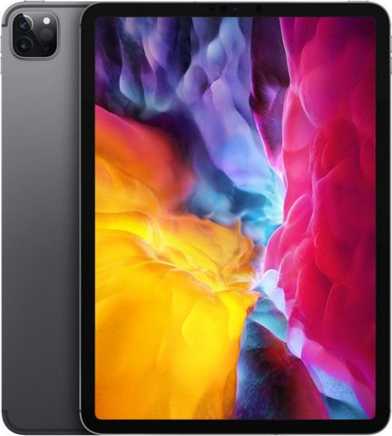 Планшет Apple iPad Pro 12.9 Wi-Fi + Cellular 256GB (2020) (Серый космос)