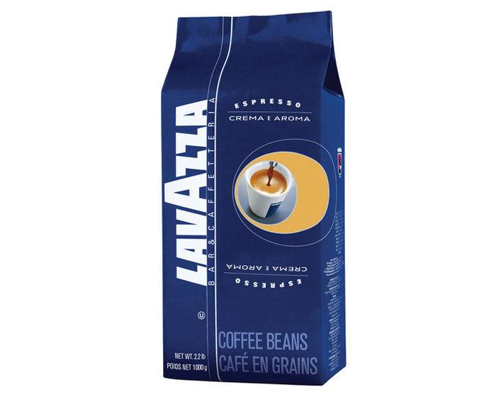 Кофе в зернах LavAzza Crema e Aroma, 1 кг (Лавацца)