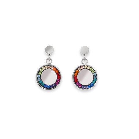 Серьги Multicolour Silver 5004/21-1517