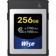 Карта памяти Wise Cfexpress B 256GB CFX-B 1700/1550 MB/s