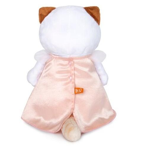 Кошечка Ли-Ли в нежно-розовом платье с птичкой