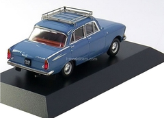 Moskvich-408E (4 head lights) blue-grey 1966 IST105 IST Models 1:43