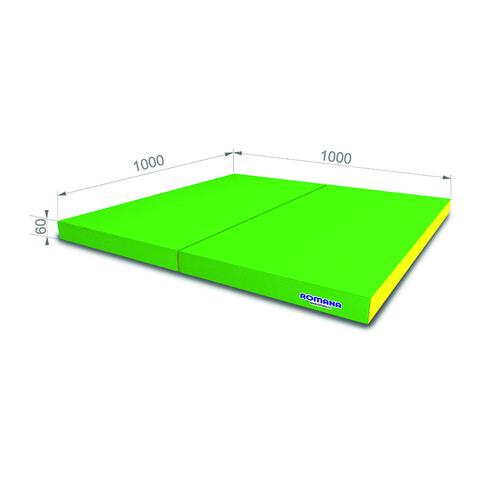 РОМАНА Мягкий щит (Мат) 1000*1000*60, в 2 сложения