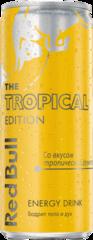 """Энергетический напиток """"Red Bull"""" Tropical Edition 0,25"""