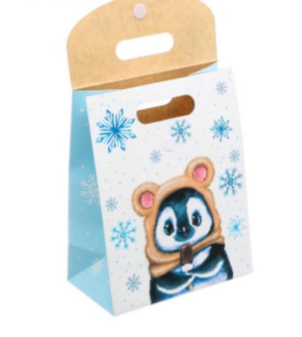060-0040 Пакет подарочный «Доброго праздника», 26 × 32 × 12 см