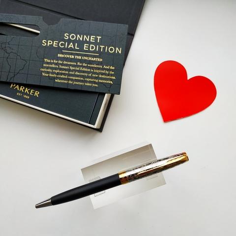 Шариковая ручка Parker Sonnet Special Edition 2018 Impression Matte Black GT123