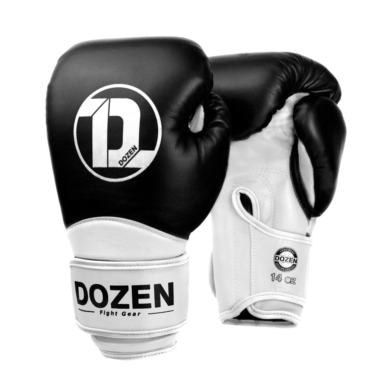 Перчатки Dozen Dual Impact Black/White главный вид