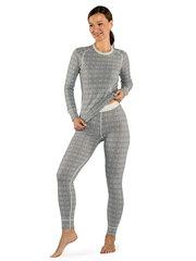 Devold термобелье брюки Alnes Woman Long Johns Grey