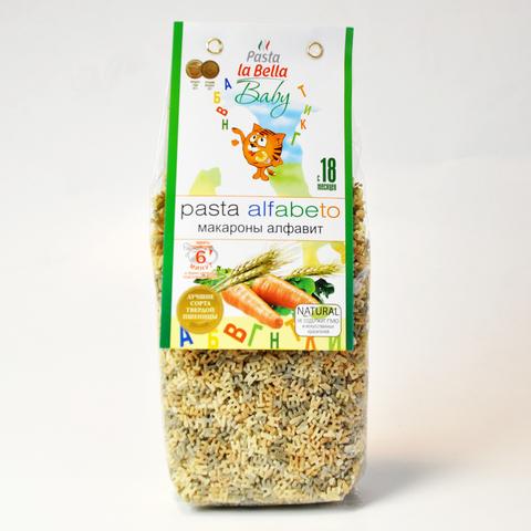 Макароны АЛФАВИТ Pasta la Bella BABY 400 г