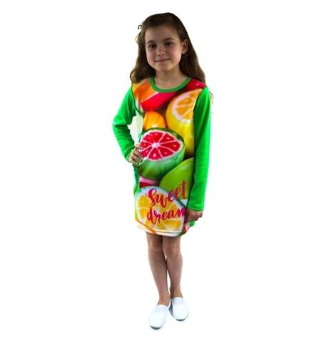 Платье Сладкий сон детское трикотажное