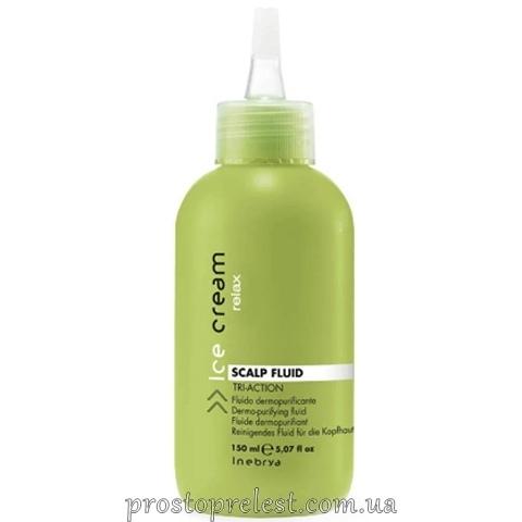 Inebrya Scalp Fluid Tri-Action Dermo Purifiyng - Пилинг-флюид для очищения кожи головы