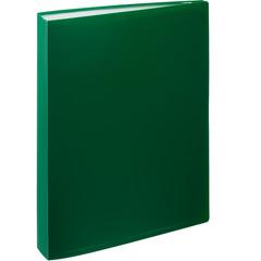 Папка файловая на 100 файлов Attache зеленая