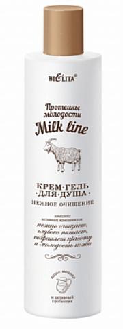 Белита Milk line Протеины молодости Крем-гель для душа 400мл
