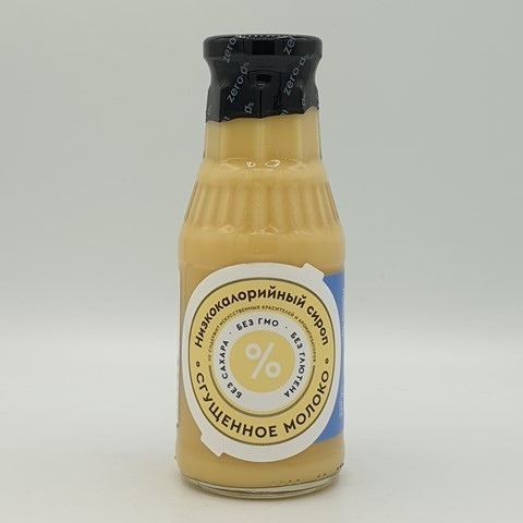 Сироп Низкокалорийный Сгущенное молоко Mr.DjemiusZERO