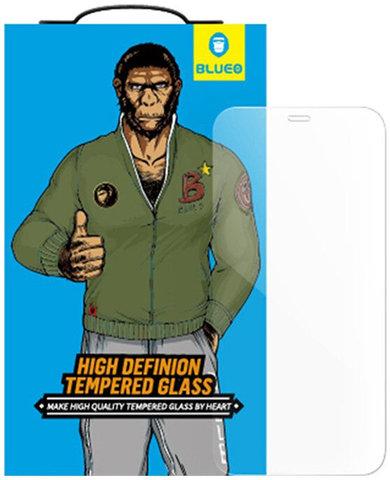 Защитное стекло BlueO для iPhone 12 mini закален. с олеоф.покр. | 2.5D прозрачное 0.33мм