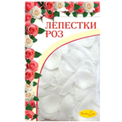 Лепестки роз Белые 30гр.