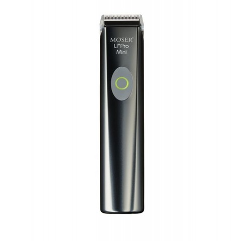 Триммер Moser Li+Pro mini, аккум/сетевой, 1 насадка, серебристый (1584-0050)