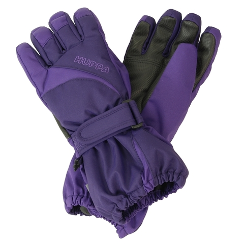 HUPPA JOSH зимние детские перчатки темно-лиловые