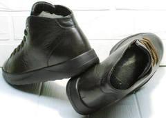 Модные ботинки теплые кеды мужские Ikoc 1770-5 B-Brown.
