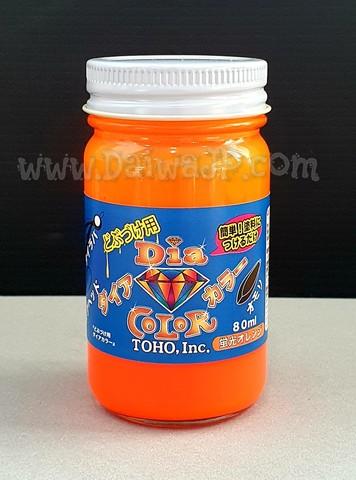 Лак TOHO DIA COLOR MANICURE 0482 Оранжевый 80мл