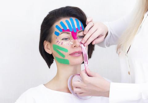 Кинезио тейп для лица Ayoume Kinesiology Tape Roll