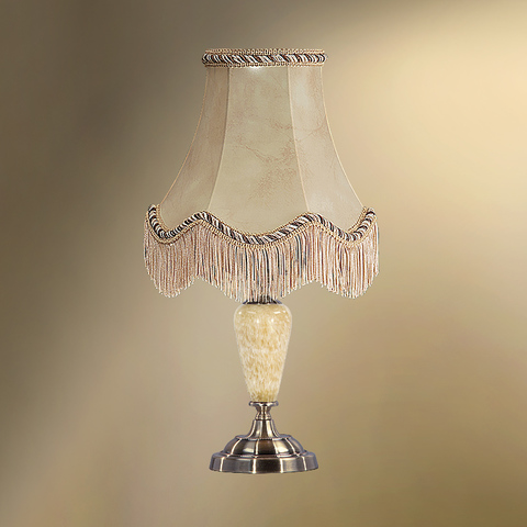 Настольная лампа с абажуром 24-20Ф/3522Ф СТАРЫЙ АРБАТ