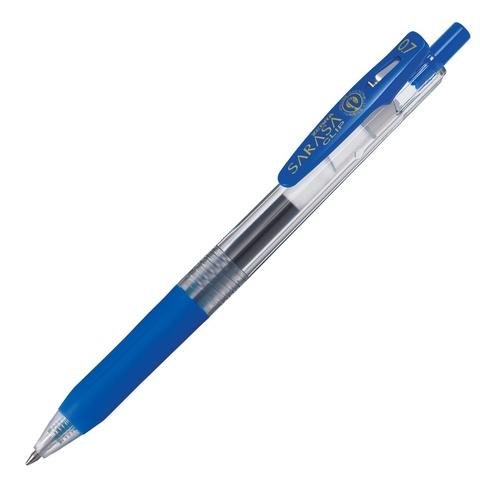 Ручка гелевая Zebra Sarasa Clip 0.7 синяя